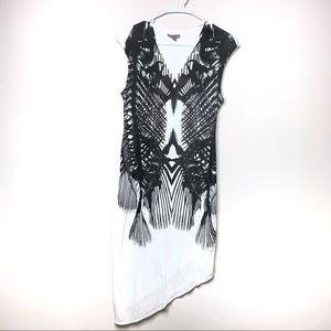 Helmut Asymmetrical Dress - Small